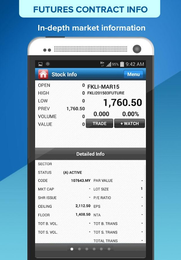 RHB Futures- screenshot