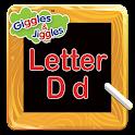 Letter D for LKG Kids Practice