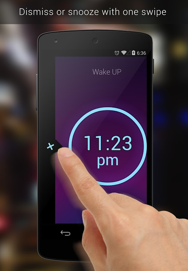 Neon Alarm Clock- screenshot