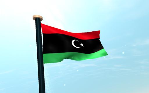 玩個人化App|利比亚旗3D免费动态壁纸免費|APP試玩