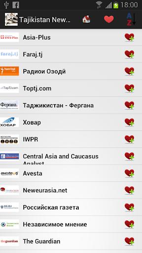 Tajikistan Newspapers and News