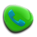 exDialer Glossy Plastic Theme icon