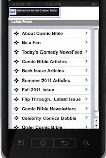 Comic Bible Magazine- screenshot thumbnail