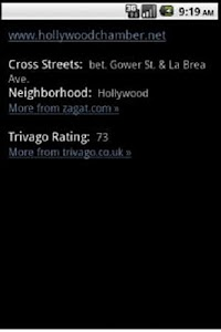 Hollywood Travel Guide GPS screenshot 5