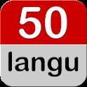 50 languages logo
