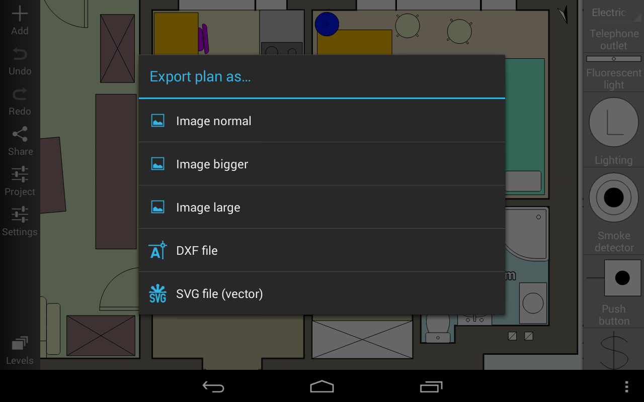 Floor plan creator aplicaciones de android en google play for Floor plan creator unlocked