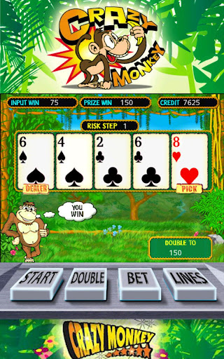 Crazy Monkey Slots Screen Capture 3