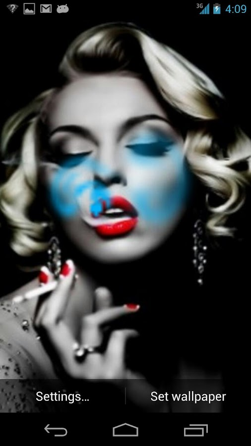 Marilyn Monroe - Live Smoke - screenshot