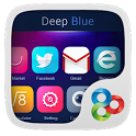 Deep Blue GO Launcher Theme icon