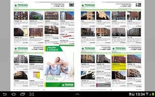 Screenshot of Revistas Grupo Tecnocasa