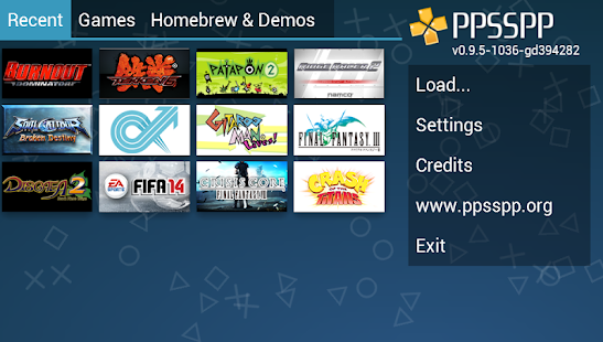 PPSSPP Gold - PSP emulator - screenshot