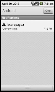 Alerta Chuva Rio - screenshot thumbnail