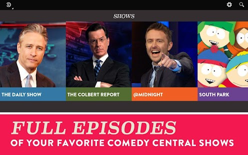 Comedy Central Screenshot 20