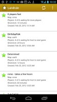 Screenshot of Landrule Strategy vs Risk