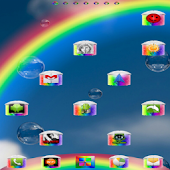 Rainbow_ok Theme Go LauncherEx