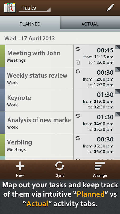 Schedule Planner Pro - screenshot