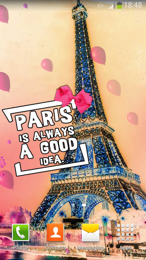 paris wallpaper cute images