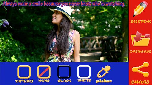 Text on Photos App