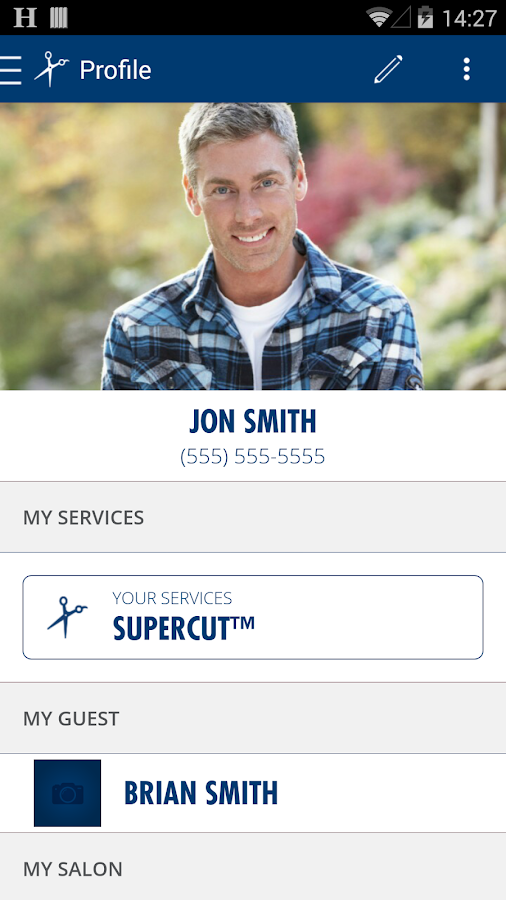 Supercuts - screenshot