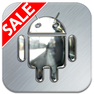 Silver Chrome Icon Pack v2.1.0 APK