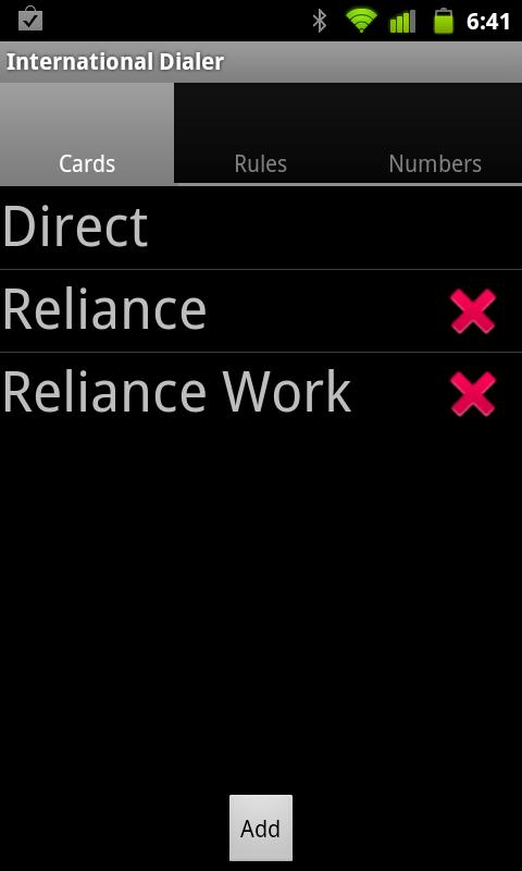 International Dialer- screenshot