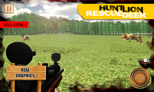 【免費動作App】鹿生存狮子狩猎3D-APP點子