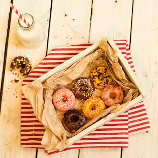 Mini Baked Doughnuts.