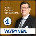 Paavo Väyrynen-Presidenttipeli logo