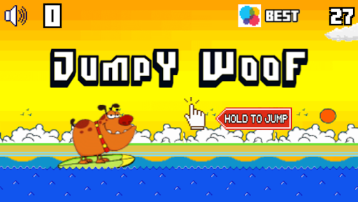 Jumpy Woof Saga - The Tiny Dog