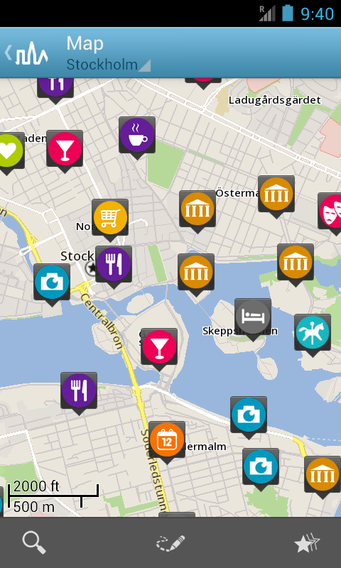 Stockholm Travel Guide Triposo - screenshot