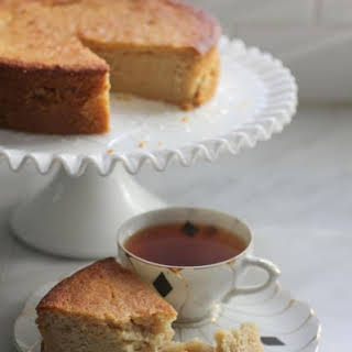 Honey Lemon Cake.
