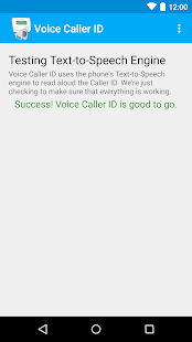 Voice Caller ID - screenshot thumbnail