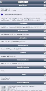 Track My Medical Records- screenshot thumbnail