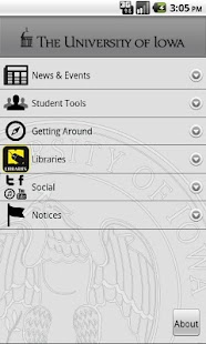 University of Iowa - screenshot thumbnail