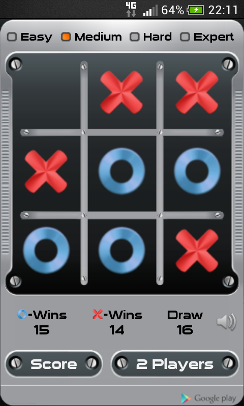 Tic Tac Toe- screenshot