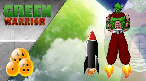 Dragon Green Warrior