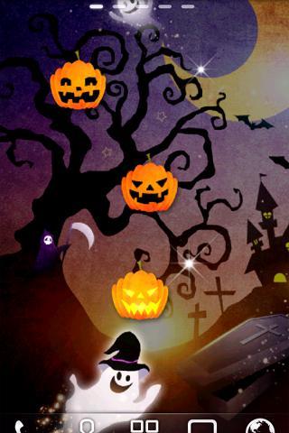 Halloween SD ライブ壁紙