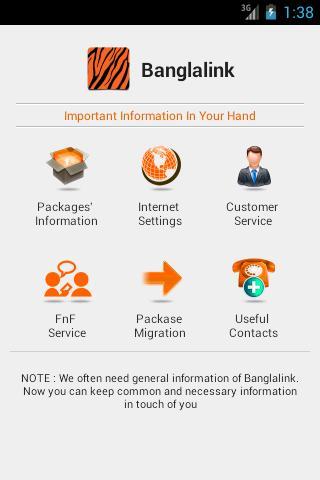 Banglalink Info 3G