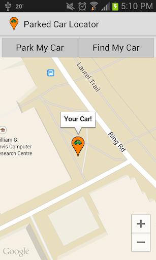 Parked Car Locator