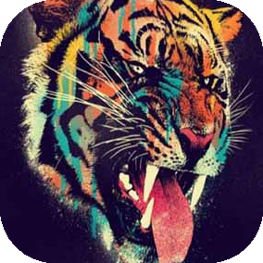 Grin of Colored Tiger Live