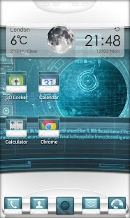 Starship C. GO Launcher Theme