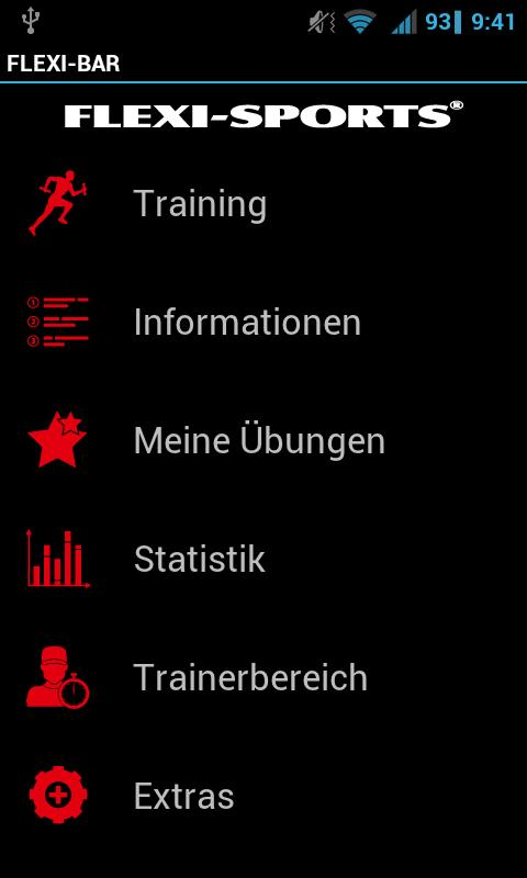 FLEXI-BAR & XCO Workout- screenshot