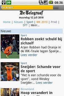 De Krant - screenshot thumbnail