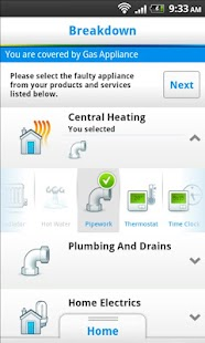 British Gas - screenshot thumbnail