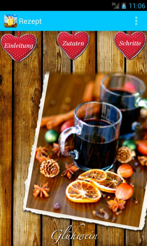 Winter-Rezepte - Glühwein & Co - screenshot