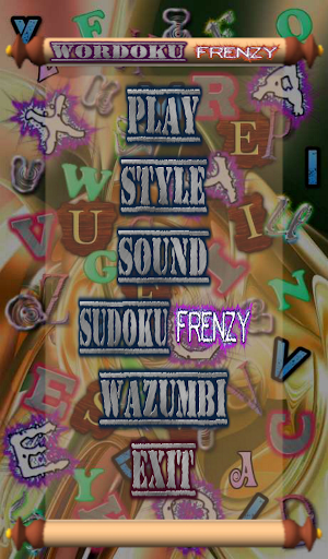 【免費解謎App】Wordoku Frenzy Puzzle-APP點子