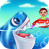 Shark Attack! Kids Hero Rescue