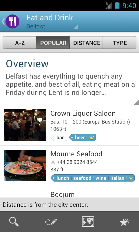 Belfast Travel Guide- screenshot