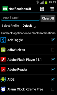 Notifications Off [Root] Screenshot 1