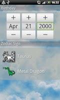 Screenshot of Easy Astrology
